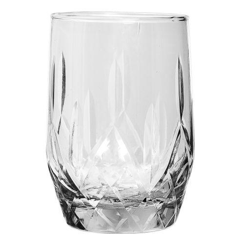 Bloomingville / Brúsený pohár na whisky