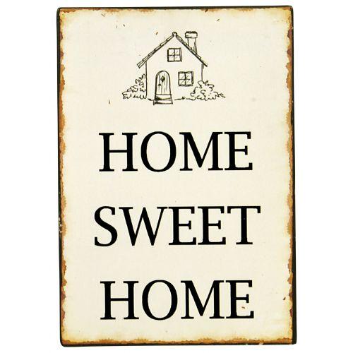 IB LAURSEN / Plechová ceduľa Sweet Home 2