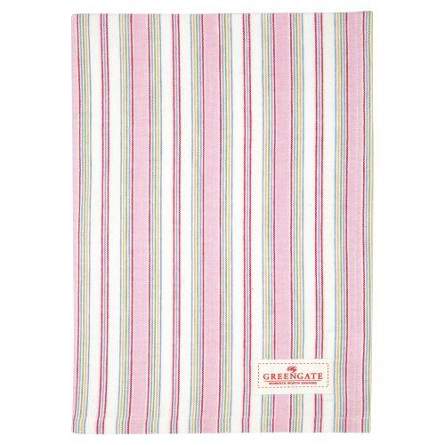GREEN GATE / Bavlnená utierka Imke Pale Pink