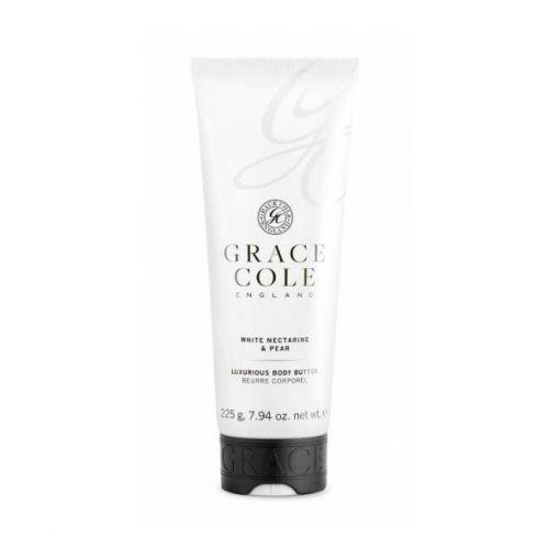Grace Cole / Telové maslo White Nectarine & Pear 225g