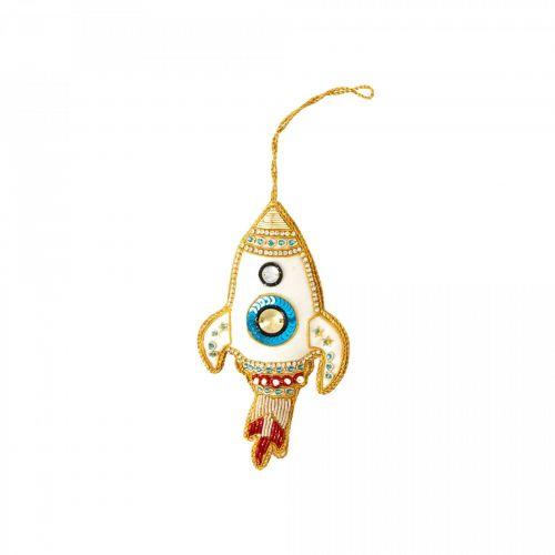 rice / Závesná vianočná dekorácia Rocket Ornament
