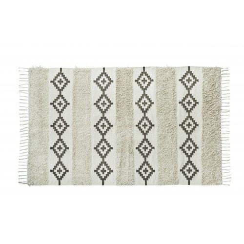 MADAM STOLTZ / Bavlnený koberec Fringes 120x180
