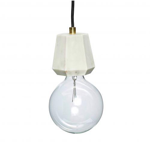 Hübsch / Závesná mramorová lampa White