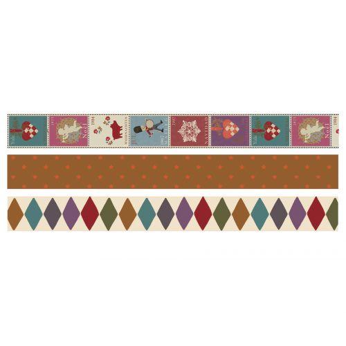 Maileg / Samolepiaca designová páska Christmas multi