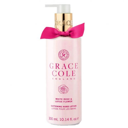 Grace Cole / Mlieko na ruky White Rose & Lotus Flower 300ml