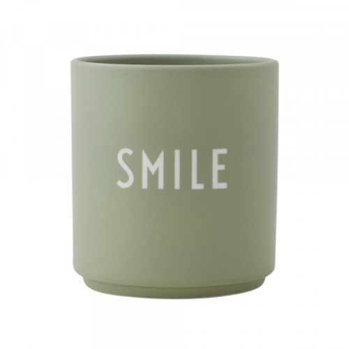 DESIGN LETTERS / Porcelánový hrnček Smile 300 ml