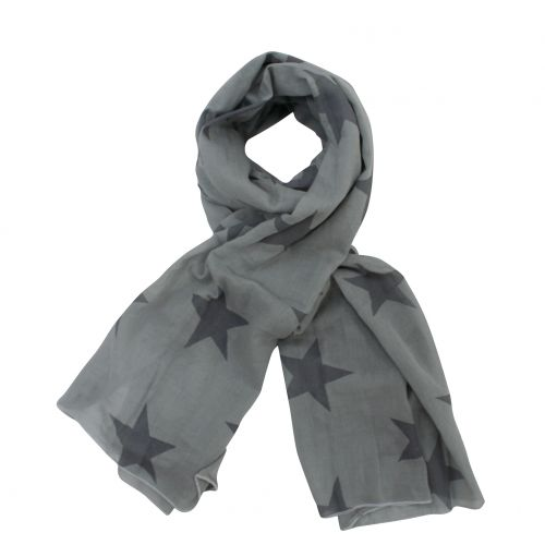 Krasilnikoff / Šátek Grey and charcoal stars