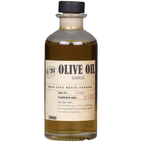 LE CRU Delicacies / Olivový olej Extra Virgin s cesnakovou príchuťou 200ml