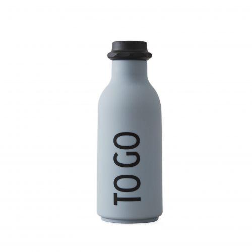 DESIGN LETTERS / Fľaša na vodu To Go Grey 500ml