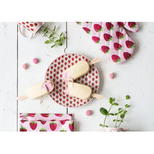 Krasilnikoff / Dezertný tanier Strawberry