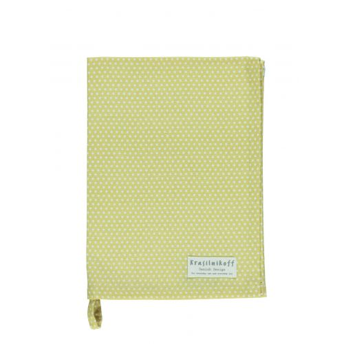 Krasilnikoff / Utierka Micro Dots Yellow 50x70cm