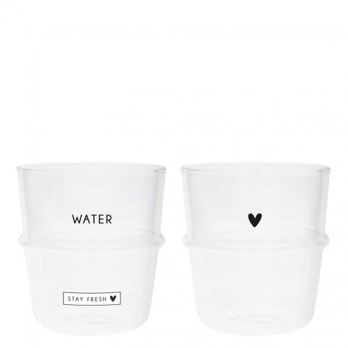 Bastion Collections / Pohár na vodu Stay Fresh & Heart 250 ml