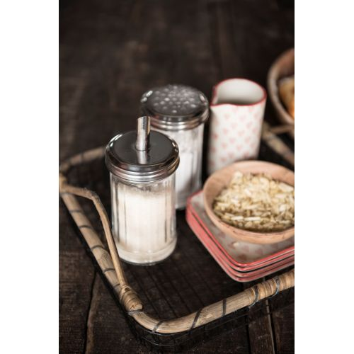IB LAURSEN / Sklenená cukornička s dávkovačom Glass