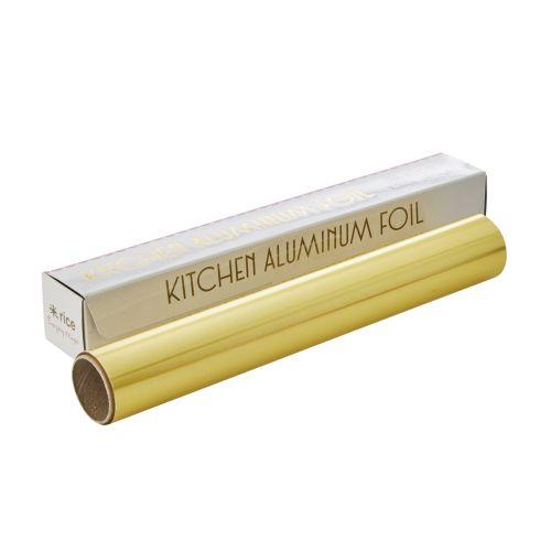 rice / Barevný alobal Gold