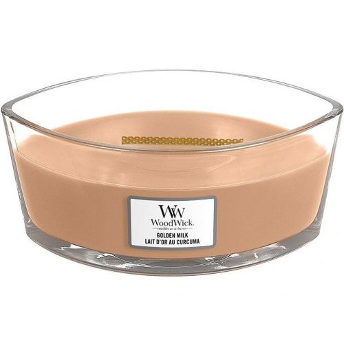 WoodWick / Vonná sviečka WoodWick - Golden Milk 454g