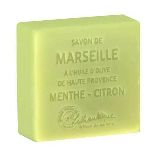 Lothantique / Marseillské mýdlo Minth-Lemon 100g