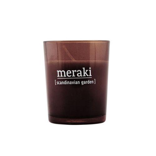 meraki / Vonná sviečka Scandinavian Garden - 6,7 cm