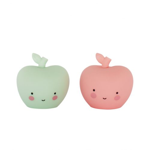 A Little Lovely Company / Mini plastová figurka Apple - 2 ks