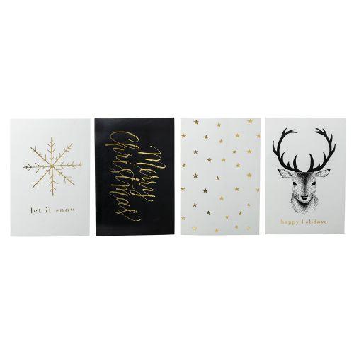 Bloomingville / Vianočná kartička Noel - set 4 ks