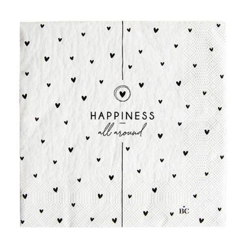 Bastion Collections / Papierové servítky Happiness - 20 ks