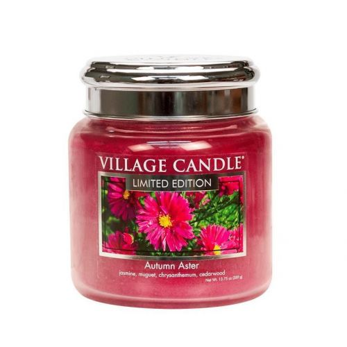 VILLAGE CANDLE / Svíčka Village Candle - Autumn Aster 389g