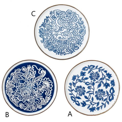 Bloomingville / Keramický tanierik Molly Blue Plate