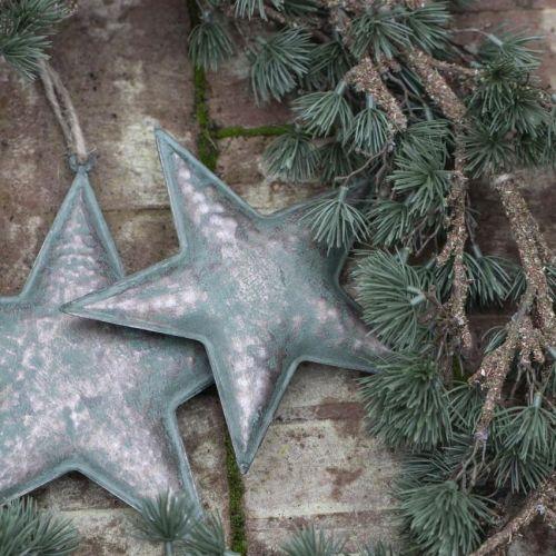 IB LAURSEN / Kovová závesná hviezda Army Green 19 cm