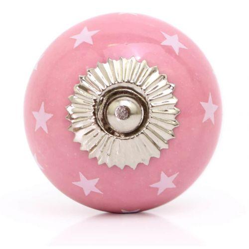 La Finesse / Porcelánová úchytka Rose stars