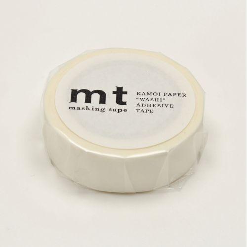 mt / Japonská papierová páska s prúžkami White Stripe