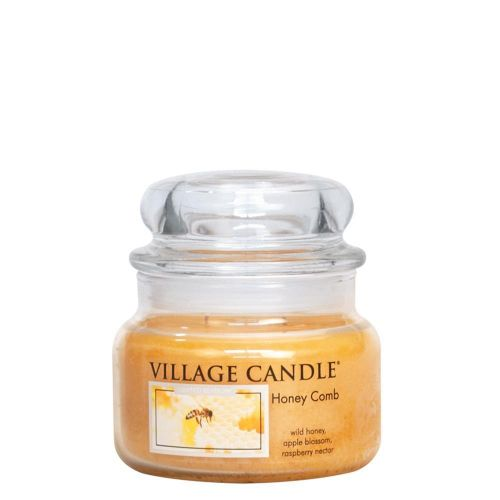VILLAGE CANDLE / Svíčka ve skle Honey Comb - malá