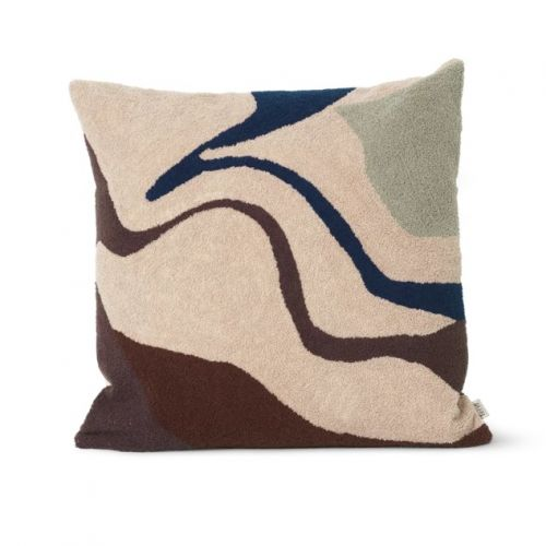ferm LIVING / Polštář Vista Cushion Beige 50 x 50 cm