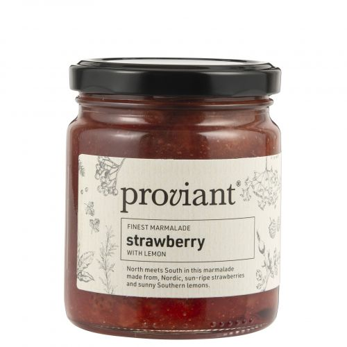 Proviant / Jahodová marmeláda s citrónom 250 g