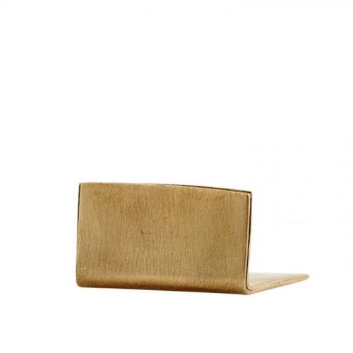 MONOGRAPH / Mosadzný držiak na karty a fotky