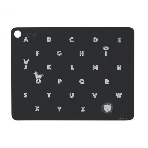 OYOY / Silikónové prestieranie Alphabet