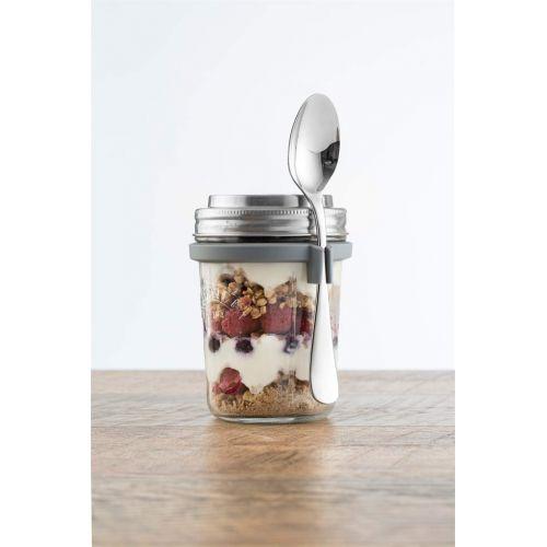 KILNER / Raňajkový pohár s lyžičkou Breakfast set