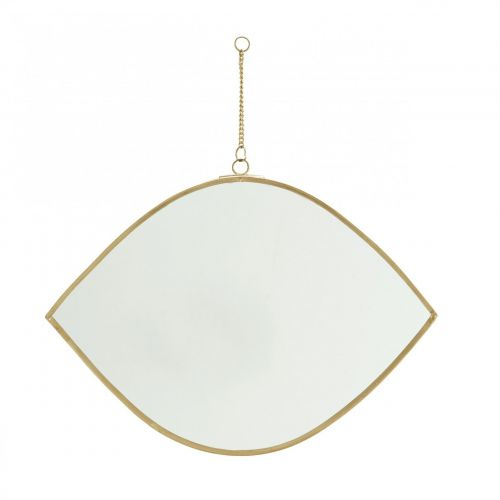MADAM STOLTZ / Závesné zrkadlo Eye Brass