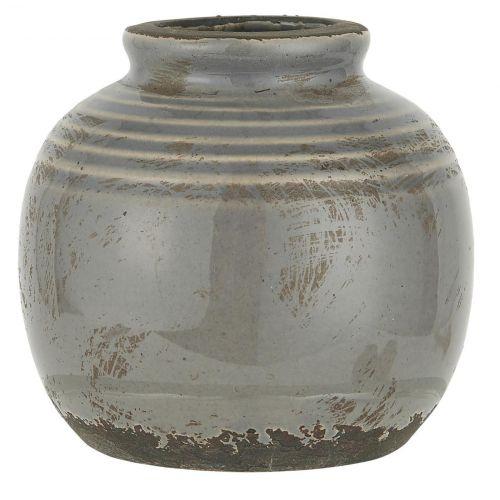 IB LAURSEN / Keramická váza Grooves 7,5 cm