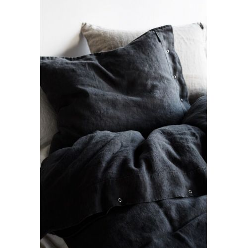 Lovely Linen / Prírodné ľanové obliečky Graphite