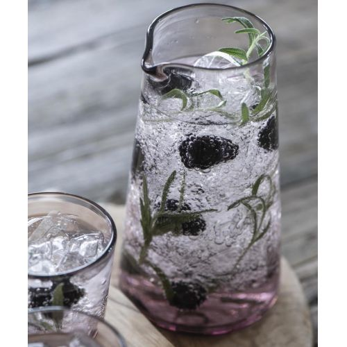 IB LAURSEN / Sklenená karafa Glass Malva 1L