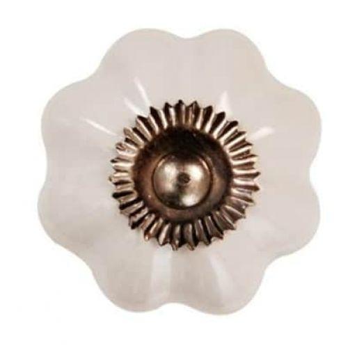 La finesse / Porcelánová úchytka Sarah 4 cm