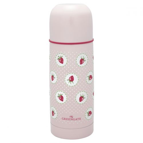 GREEN GATE / Termoska Strawberry pale pink 300 ml