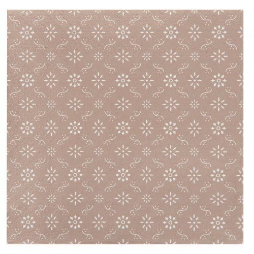 IB LAURSEN / Papierové obrúsky Milky Brown