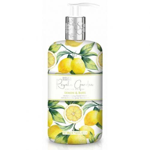 Baylis & Harding / Tekuté mydlo na ruky Lemon & Basil 500ml