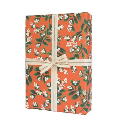 Rifle Paper Co. / Vianočný baliaci papier Mistletoe