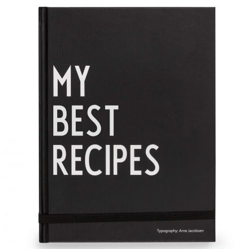 DESIGN LETTERS / Kniha na recepty My Best Recipes