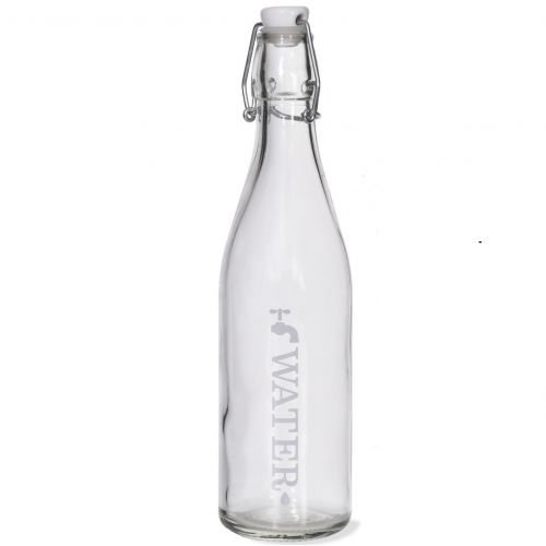Garden Trading / Fľaša na vodu s keramickou zátkou Water 1L