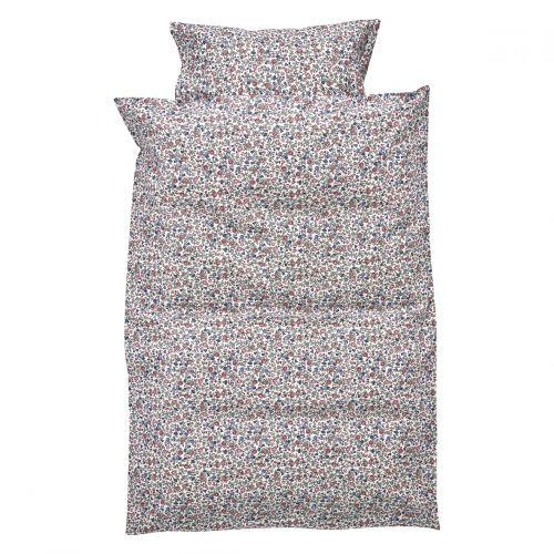 GREEN GATE / Detské bavlnené obliečky Ruby Petit White 70 x 100 cm set