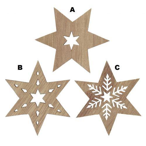 IB LAURSEN / Drevená hviezda Star Wood
