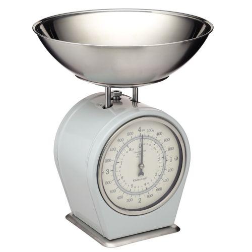 Kitchen Craft / Mechanická kuchynská váha French grey - 4 kg