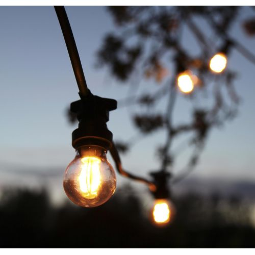 STAR TRADING / Vonkajšia svetelná reťaz na 10 žiaroviek